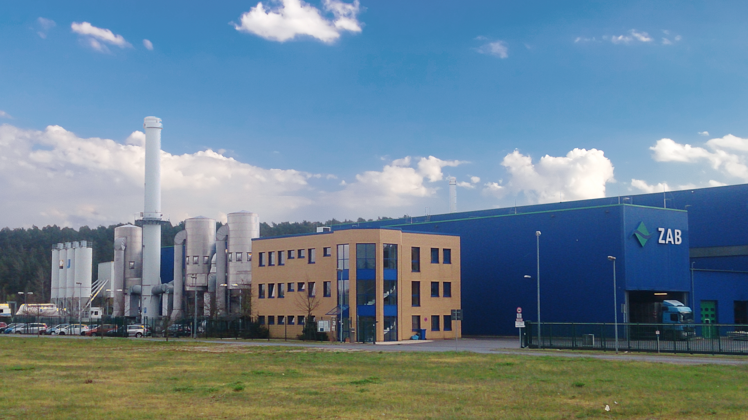 The Mechanical-Biological Stabilization Plant of the ZAB