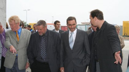 Inspection of the plant by the Prime Minister
