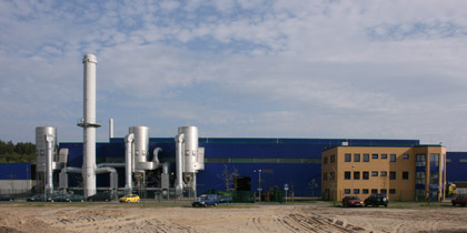 Exterior view of the plant