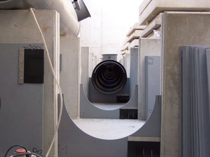 Installation of the ventilation system