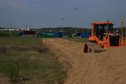 Start of construction - Start of earthworks